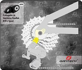 A004 - Prolongador de gancheiras RoadLink MTB e Speed